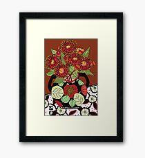 Corymbia Ficifolia Framed Print