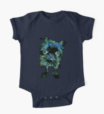 Lugga The Friendly Hairball Monster For Boos One Piece - Short Sleeve