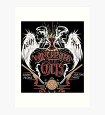 Winchester Colts Art Print
