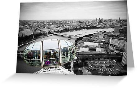 The Eye-Pod: London Eye. Southbank London. UK. by DonDavisUK