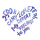 2500 kilometers can't defeat my feelings to you by Julia Syrykh