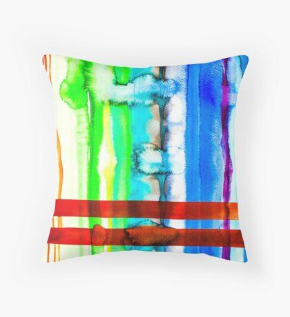 BAANTAL / Lines #4 Throw Pillow