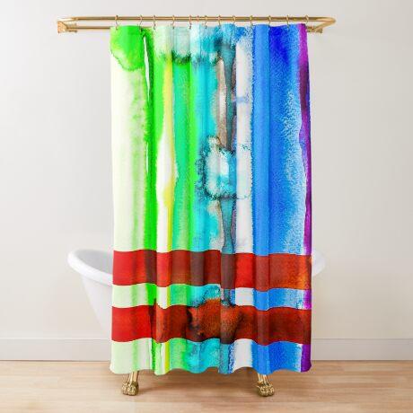 BAANTAL / Lines #4 Shower Curtain