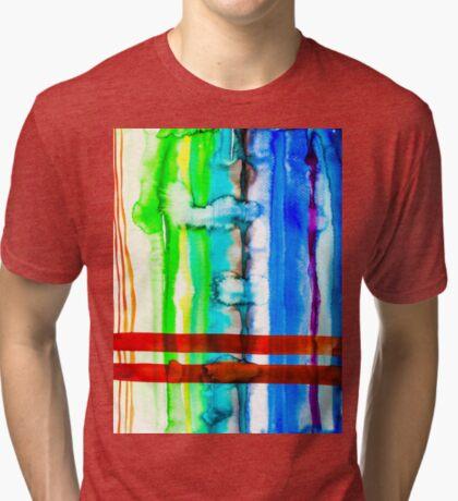 BAANTAL / Lines #4 Tri-blend T-Shirt