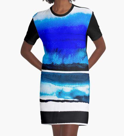 BAANTAL / Lines #3 Graphic T-Shirt Dress