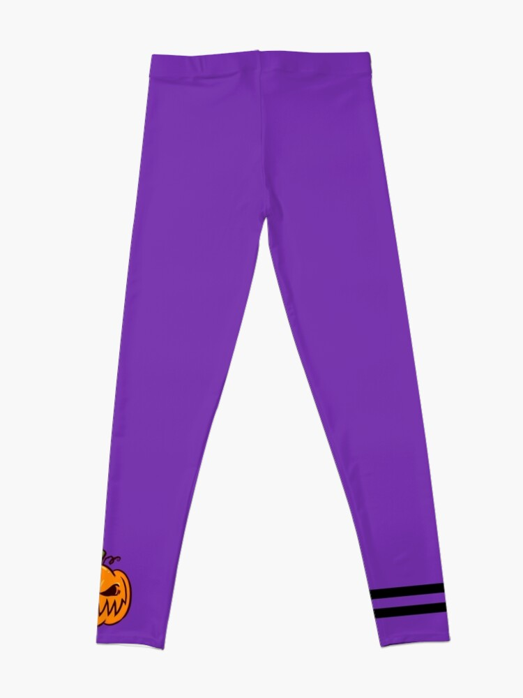 Alternate view of Mischievous Pumpkins Leggings