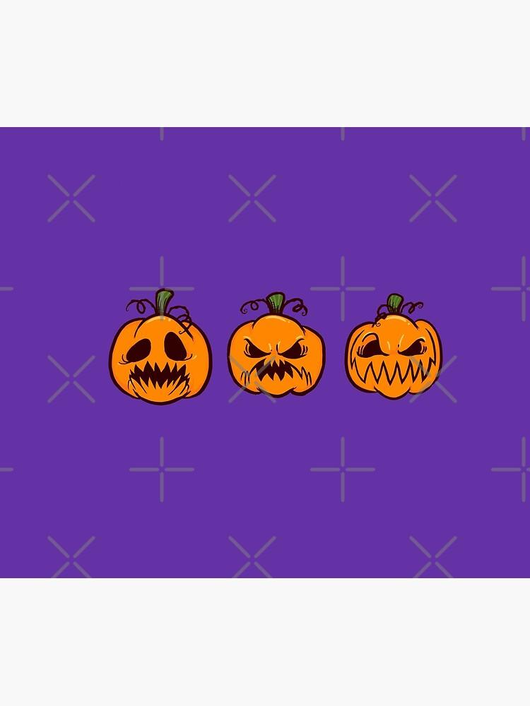 Mischievous Pumpkins by MinervaMarie
