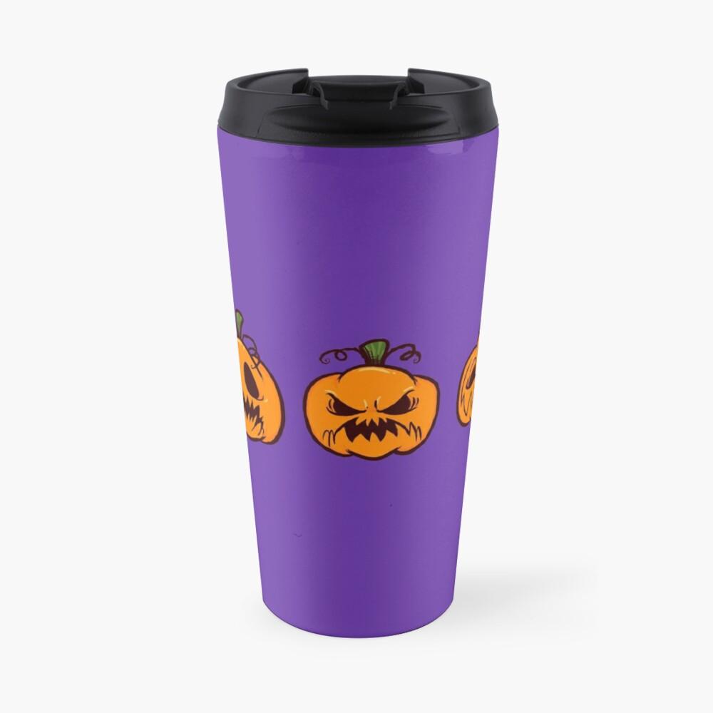 Mischievous Pumpkins Travel Mug