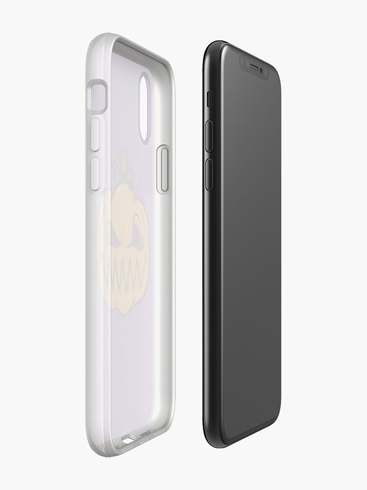 Alternate view of Mischievous Pumpkins iPhone Case & Cover