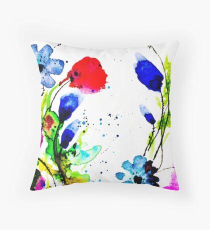 BAANTAL / Pollinate / Evolution #11 Throw Pillow