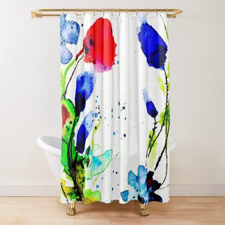 BAANTAL / Pollinate / Evolution #11 Shower Curtain