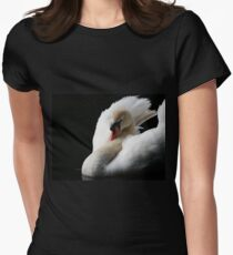 Mute Swan Women's Fitted T-Shirt