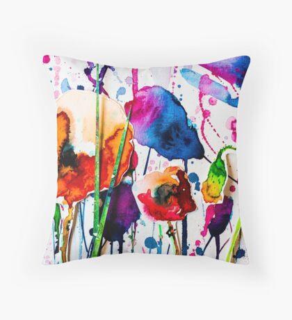 BAANTAL / Pollinate / Evolution #10 Throw Pillow