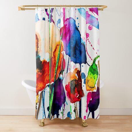 BAANTAL / Pollinate / Evolution #10 Shower Curtain