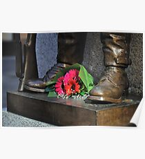 Remembrance -The Cenotaph Martin Place Poster