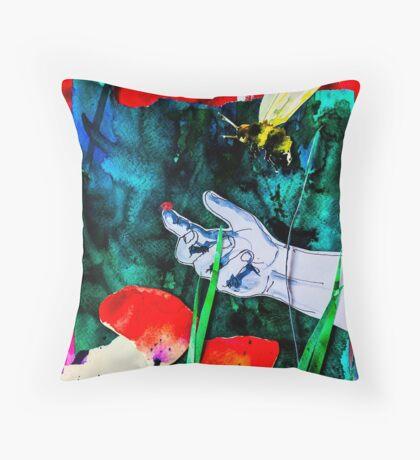 BAANTAL / Pollinate / Evolution #8 Throw Pillow