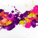 Boldly Splattered by Ilze Lucero