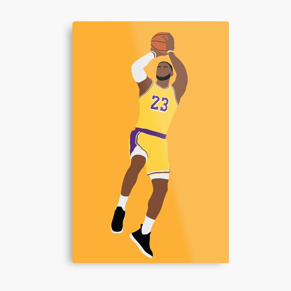 Lebron James Wall Art Redbubble