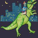Dino Rider by micklyn