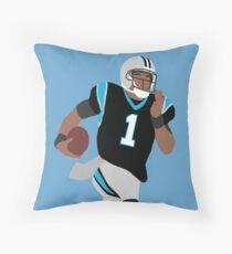 Cam Newton Throw Pillow