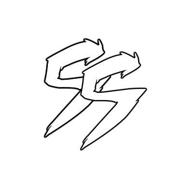 Soundstorm Fierce Logo - White by Soundstorm