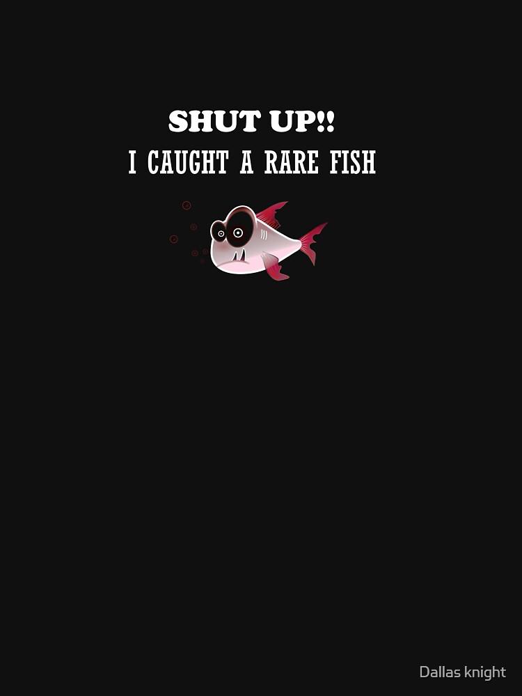 SHUT UP! i CAUGHT A RARE FISH by tiaknight