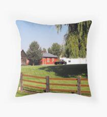 Huntsville Utah ~ Country scene Throw Pillow