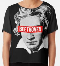 Classical Music - Beethoven Chiffon Top