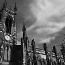 Monochrome Church by Gillen
