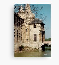 Laarne Castle - Belgium Canvas Print