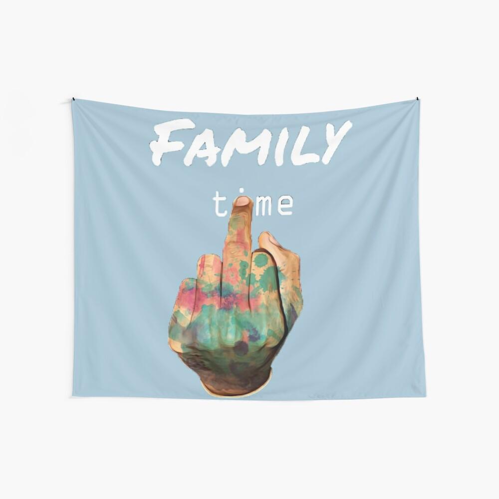 Familienzeit Wandbehang