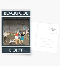 Blackpool - Don't Postcards