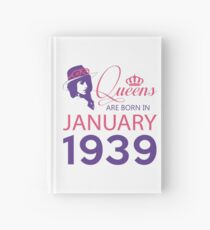 It's My Birthday 79. Made In January 1939. 1939 Gift Ideas. Hardcover Journal
