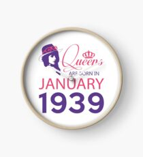 It's My Birthday 79. Made In January 1939. 1939 Gift Ideas. Clock