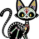 Day of the Dead Kitty by Plague Docteur