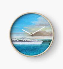 """Chanticleer"" - Burger Yacht Clock"