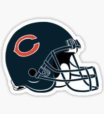 Chicago Bears Helmet  Sticker