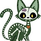 Zombie Kitty by Plague Docteur