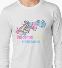 unicorns barf rainbows T-Shirt