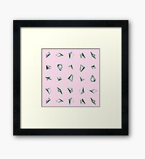 DIAMONDS Framed Print