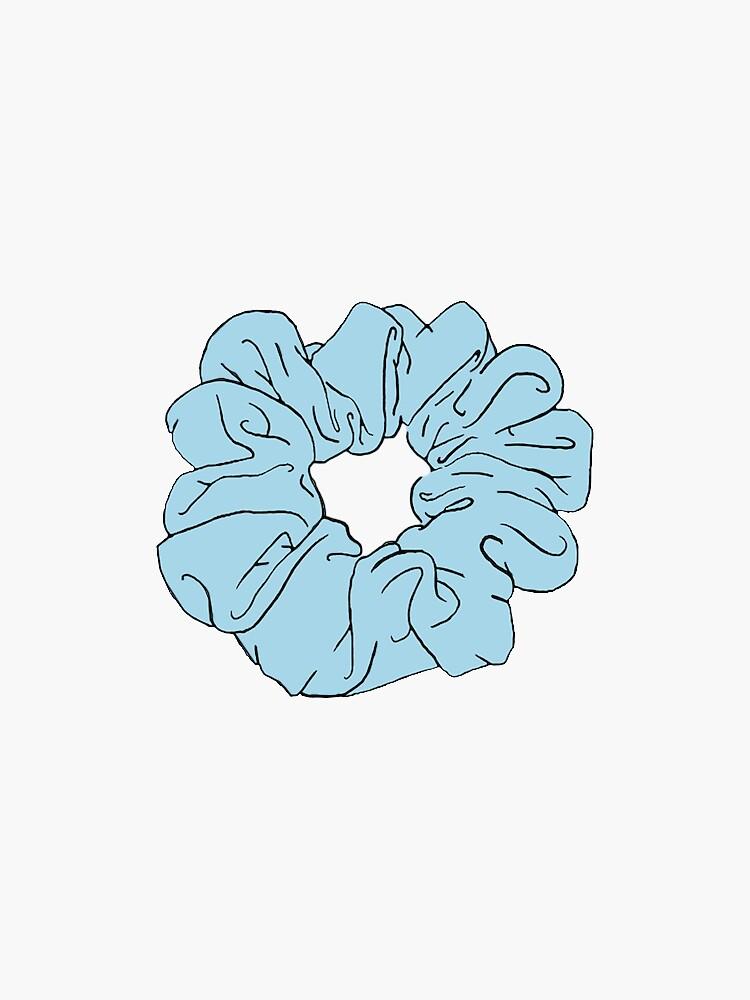 blaue scrunchie von ncorreia117