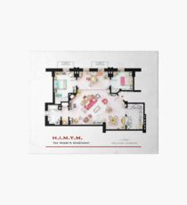 Ted Mosby's apartment from 'HIMYM' Art Board