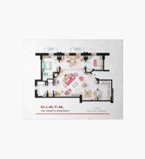 Ted Mosby Wohnung von 'HIMYM' Galeriedruck
