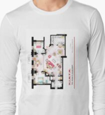 Ted Mosby's apartment from 'HIMYM' Long Sleeve T-Shirt