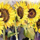 Sunflowers by artbyrachel