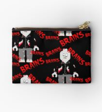 A LOT OF BRAINS - ZOMBIE MINIFIG Studio Pouch