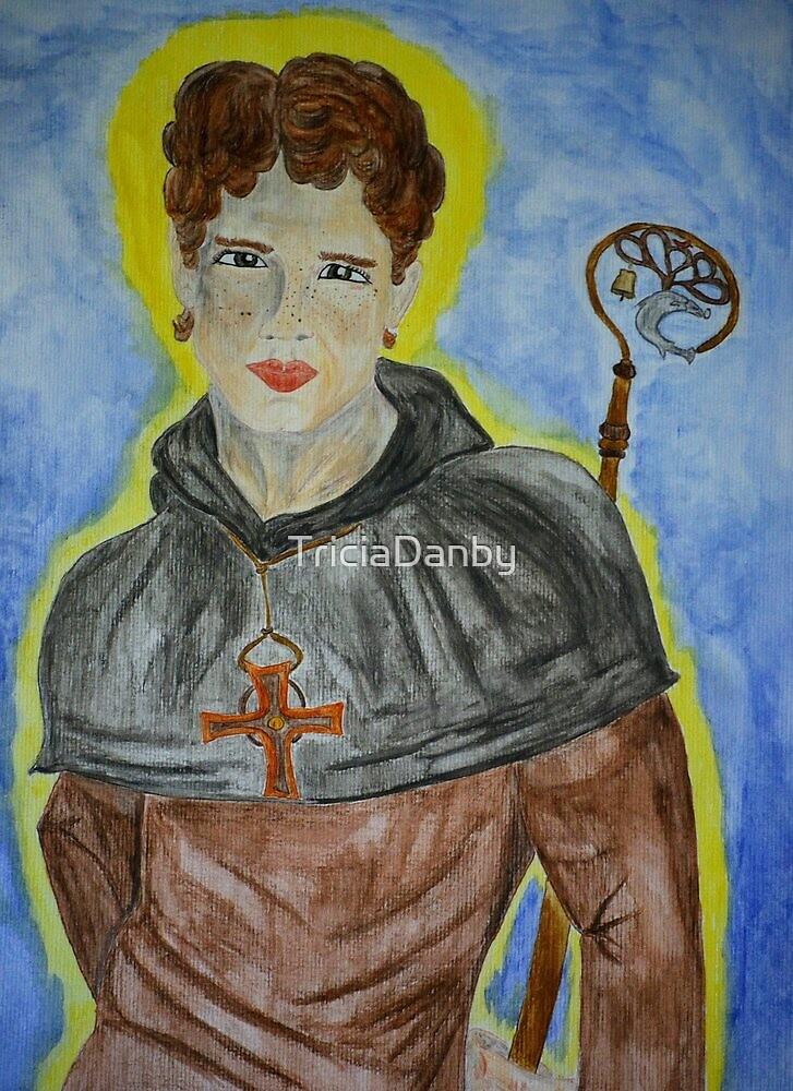 Saint Kentigern by TriciaDanby