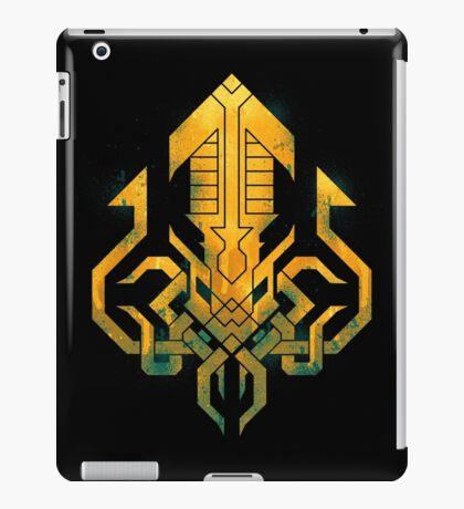Golden Kraken Sigil iPad Case/Skin