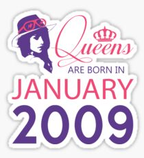 It's My Birthday 9. Made In January 2009. 2009 Gift Ideas. Sticker