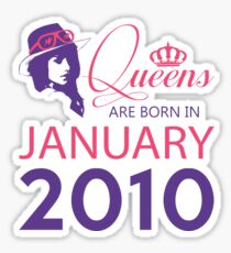 It's My Birthday 8. Made In January 2010. 2010 Gift Ideas. Sticker